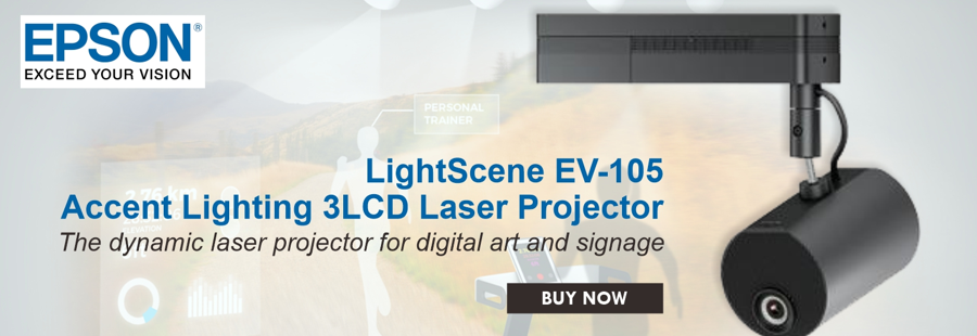 Epson EV-105 Accent Lighting Projector