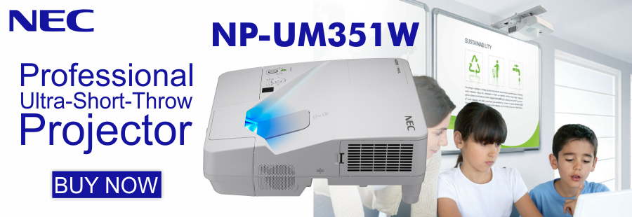 NEC NP-UM351W Short Throw Projector
