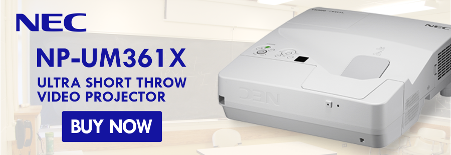 NEC Ultra Short Throw Projector