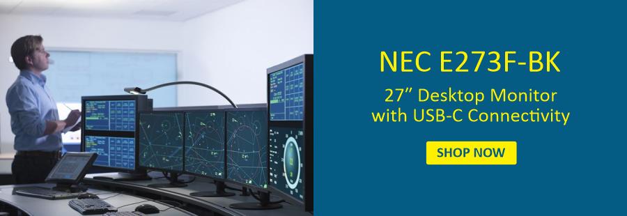 27 In NEC Desktop Monitor