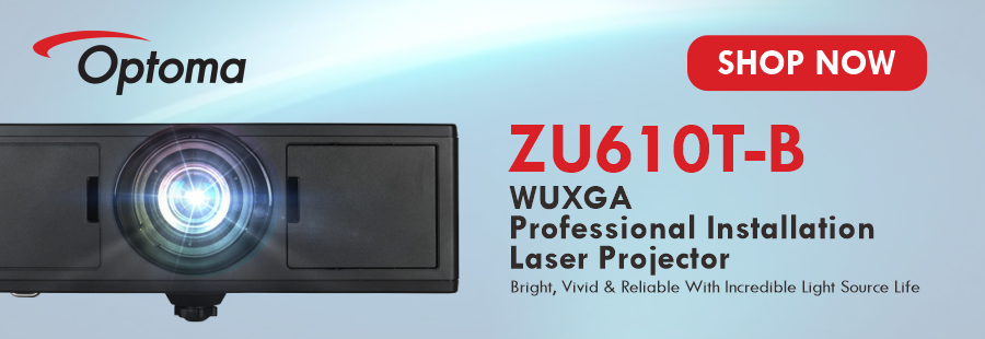 Optoma ZU610T Laser Projector