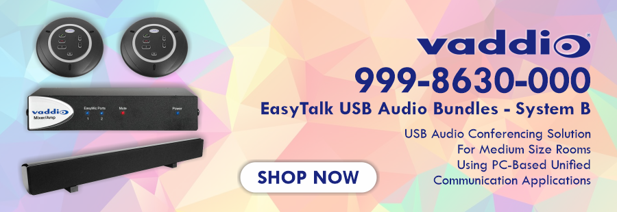 Vaddio EasyTalk USB Audio Bundle