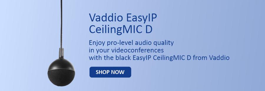 Vaddio Easy IP Ceiling Mic