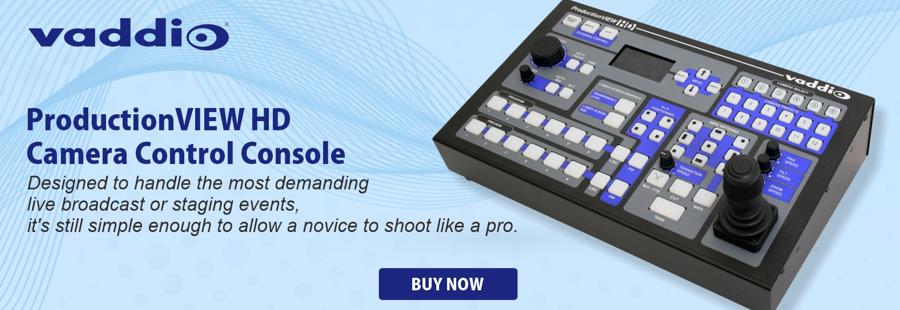 Vaddio Camera Control Console