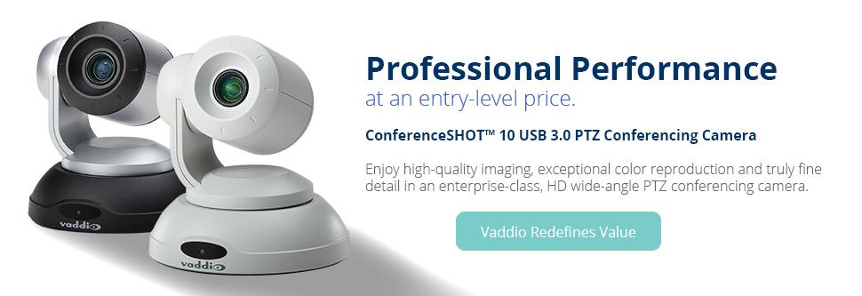 Vaddio PTZ Conference Room Cameras
