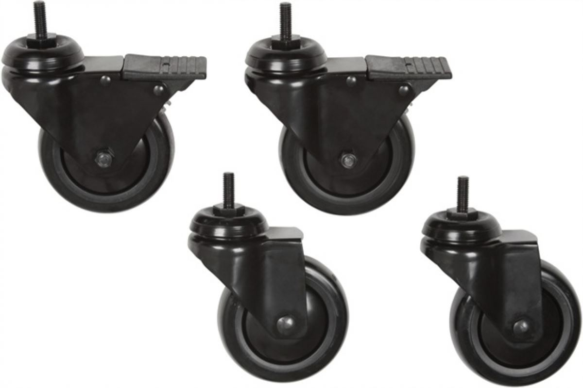 Premier Mounts CAST Replacement Casters for Mobile Carts