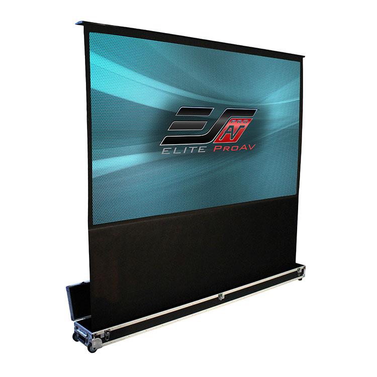 Elite FE110V-NTC 100in 4:3 Kestrel Stage NTC Electric Screen, MaxWhite