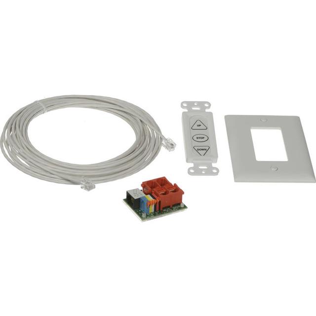 Da-Lite 38885  Built-In Smart Motor Hardware Kit in White