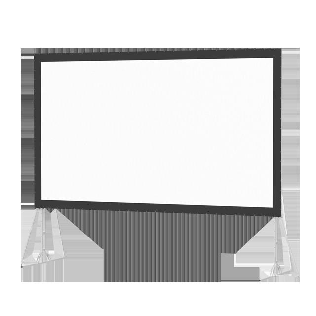 Da-Lite 180x240in Fast-Fold Truss Frame Screen Screen, Da-Tex (4:3)