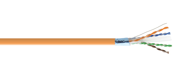 Kramer BCLS-33OR-5 CAT 6A F/UTP LSZH Bulk Cable