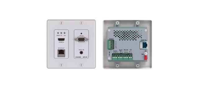 Kramer WP-20(W) HDMI & XGA - RS?232 & HDBaseT Transmitter - White Decora