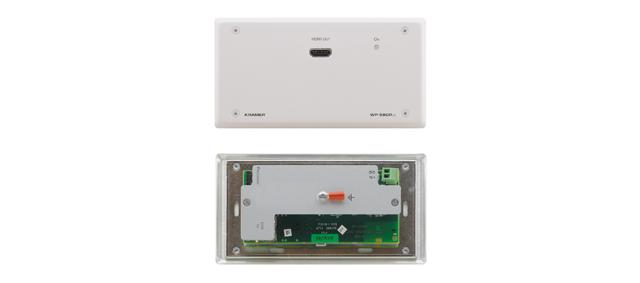 Kramer WP-580RXR/D(B) HDMI over Extended Range HDBaseT Receiver Black Decora