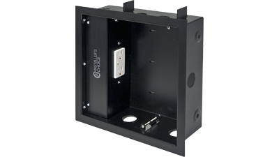 Liberty ICCB10-1 10x10in. Recessed Wallbox, Surge Protected Outlets