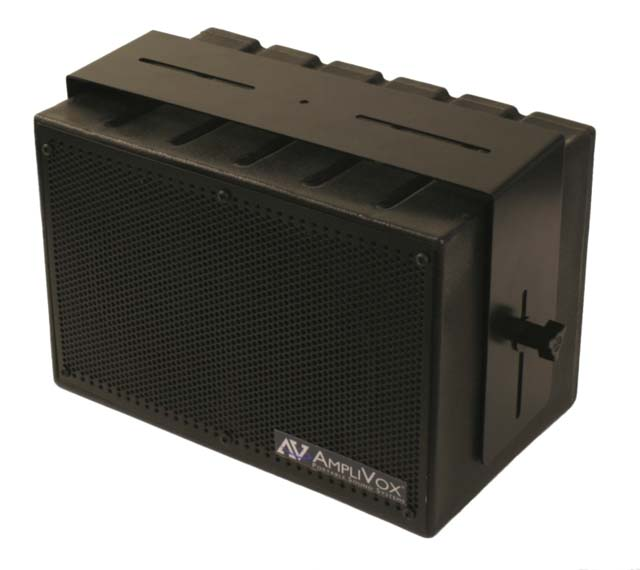 AmpliVox SW1230 8-in Mity Box Amplified Speaker, 16ch UHF Wireless Mic