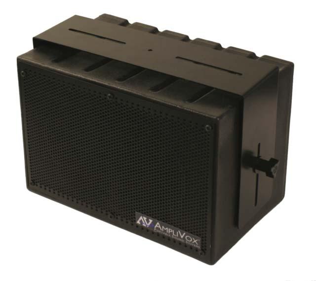 AmpliVox SW1230 8-in Mity Box Amplified Speaker, 16ch UHF Wireless Mic