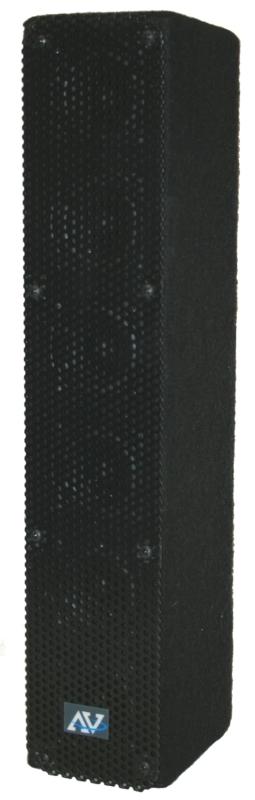 AmpliVox SS1234 50W Amplified Line Array Speaker, Wired Mic