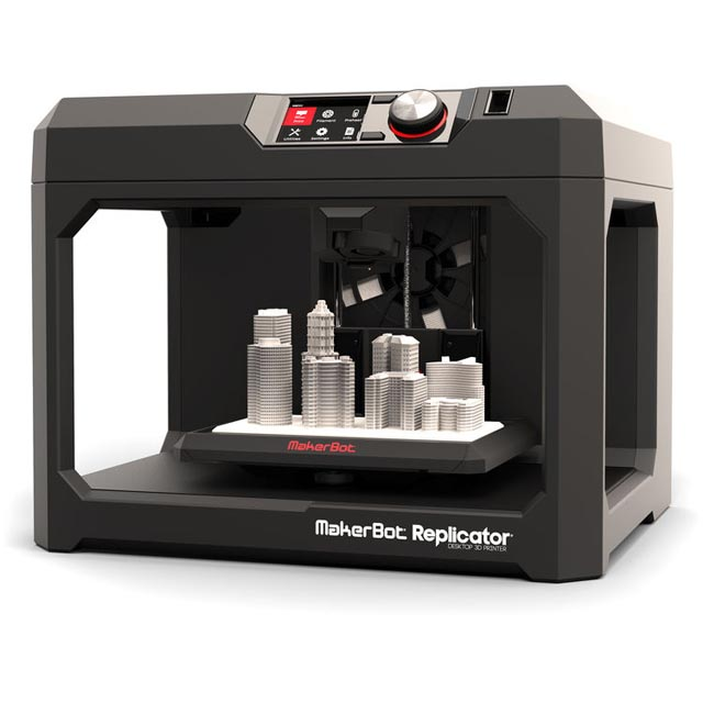 Makerbot MP05825 Replicator Desktop 3D Printer (5th Generation)