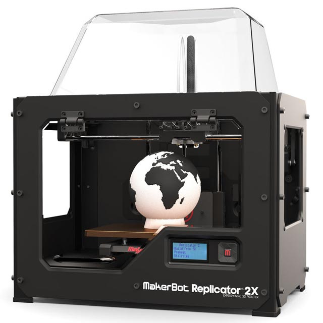 Makerbot MP05927 Replicator 2X Experimental 3D Printer