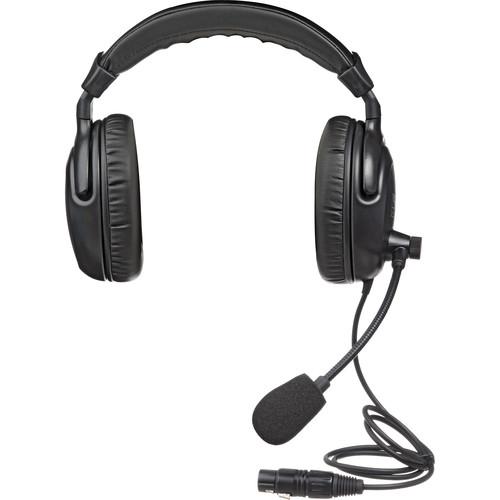 Anchor H-2000 - PortaCom Dual Earpiece Headset w/ Noise Cancelling Mic