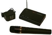 Amplivox S1620 Wireless VHF Handheld Microphone Kit