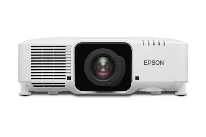 Epson Pro L1060UNL 6000lm WUXGA Laser Projector, No Lens, White, Refurbished