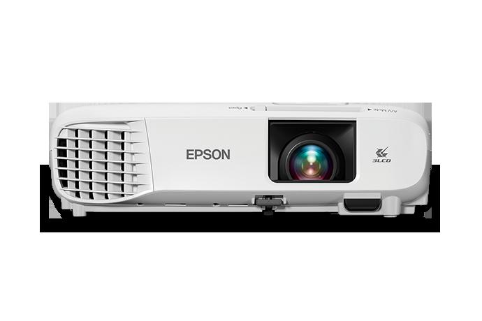 Epson PowerLite 109W 4000lm WXGA 3LCD Projector, Refurbished