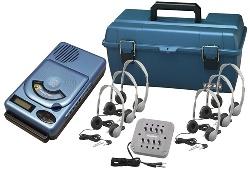 Hamilton LCP/HACX205/MS2L 6 Person CD/MP3 Listening Center w/ Headphones