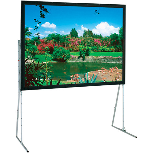 Draper Folding Rear Projection Screen w/ Heavy Duty Legs (106.5 x 170.5in.)