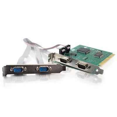 C2G 26805 Lava Quattro-PCI 4-Port PCI 16550 DB9 Serial Card