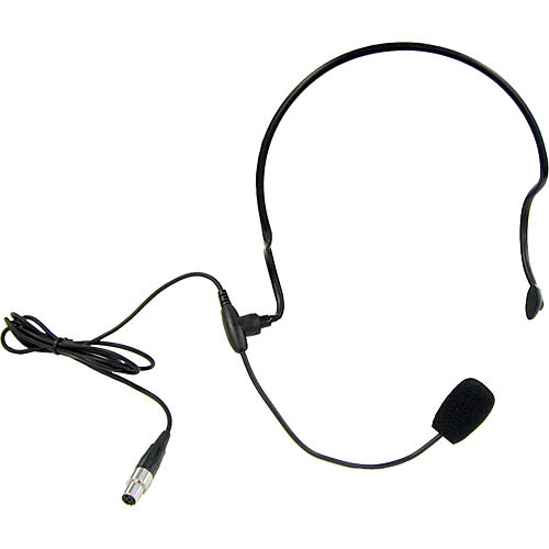 Anchor Audio HBM-TA4F- Headband Microphone with TA4F Connector