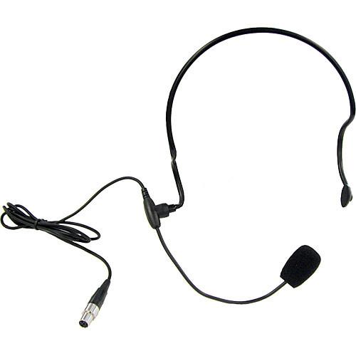 Anchor Audio HBM-TA4F- Headband Microphone with TA4F Connector
