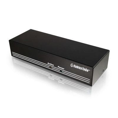 C2G 29552 8-Port UXGA Monitor Splitter/Extender (Male Input)