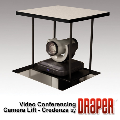 Draper 300402 Credenza Video Conferencing Camera Lift - Large