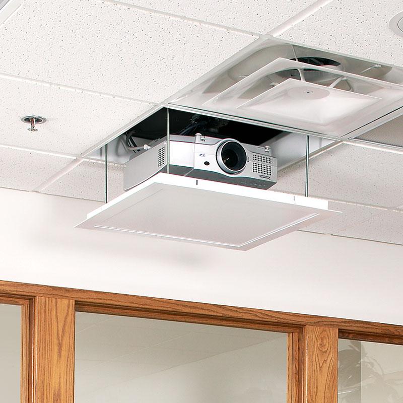 Draper AeroLift 35 In-Ceiling Lift for 35lb Projectors, 110 V