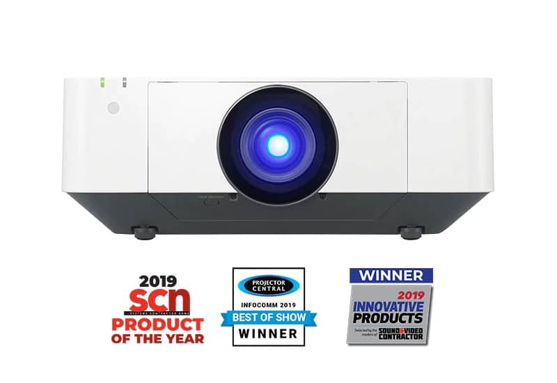 Sony VPL-FHZ70/W 5500-Lumen WUXGA Laser 3LCD Projector (White)