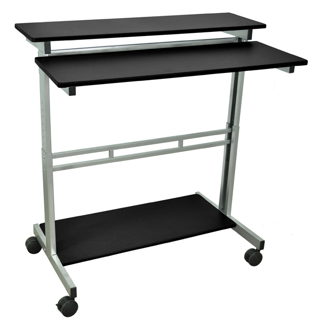 Luxor Standup-40-B Stand Up Desk - Black