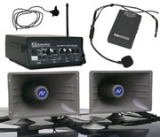 Amplivox SW312 Wireless Sound Cruiser 60W Dual Horn Mobile PA System