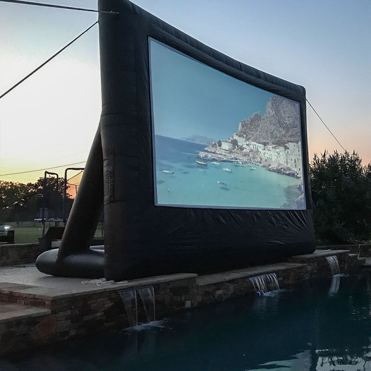 Open Air Cinema P-20 20' x 11' Pro Inflatable Projection Screen