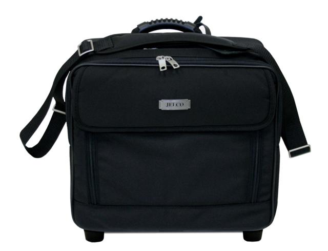 JELCO, JEL-3325ER Executive Roller Bag for Projector & Laptop