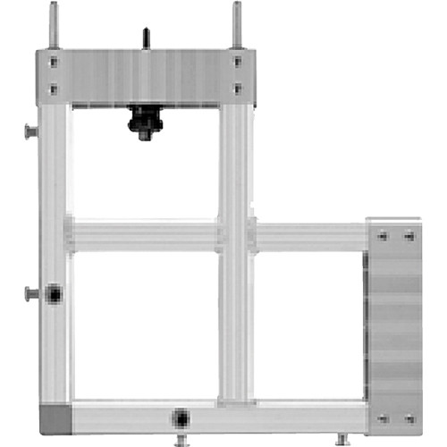 Draper, 383007 StageScreen Corner (silver)