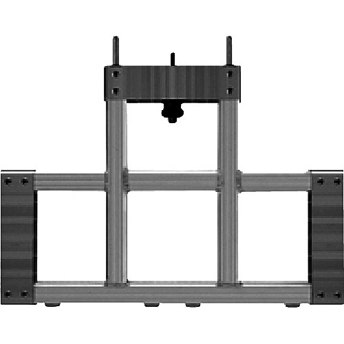Draper 383480 StageScreen T-Section (14.25 x 20.5 in. Black)
