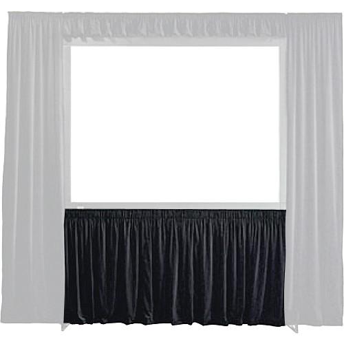 Draper 384075 StageScreen Dress Kit Skirt - Rich Velour, 108in x 144in