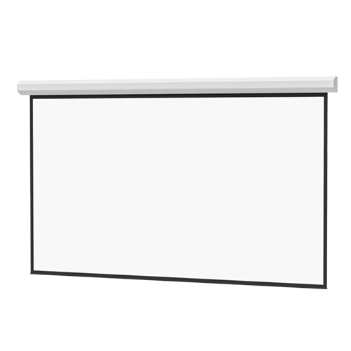 Da-Lite 192x192in Large Cosmopolitan Electrol Screen, Matte White (1:1)