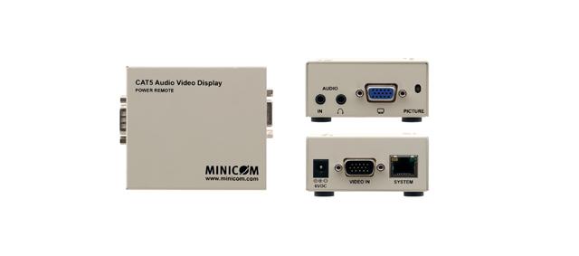 Kramer AVDS-RP 0VS22036A: Minicom AVDS CAT5 Audio Video Display Power Remote