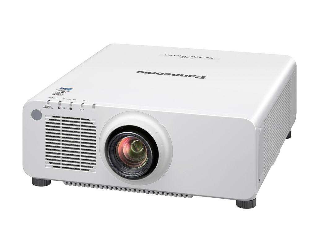 Panasonic PT-RZ770WU 7200lm WUXGA DLP Laser Projector, White