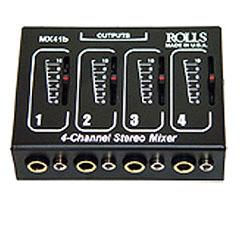 AmpliVox S1350 4-Input Microphone Mixer