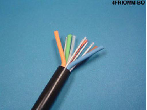 4 Fiber Multimode 62.5 Micron Breakout Fiber Optic Cable