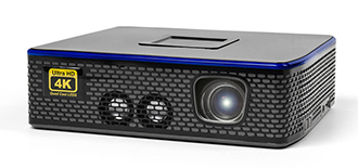 AAXA 4K1 1500lm 4K LED Pico Projector w/ Onboard Media Player