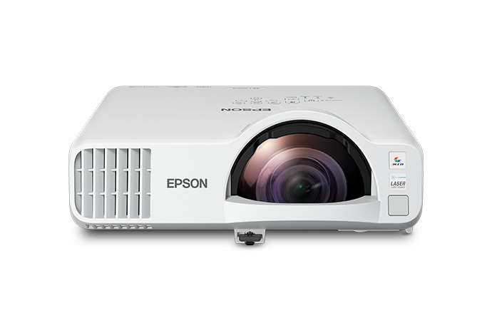 Epson PowerLite L200SW 3800lm WXGA Short-Throw LCD Laser Projector with WiFi