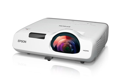 Epson PowerLite 520 2700lm XGA Short Throw 3LCD Projector, Refurbished
